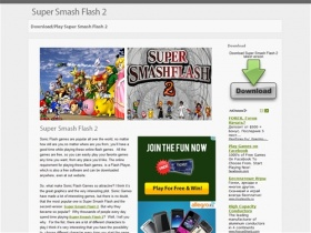 Download/Play online Super Smash Flash 2