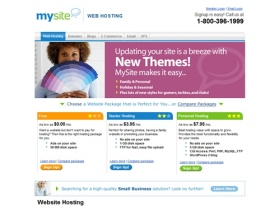 Website Hosting - Mysite.com